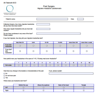 Post-Surgery Migraine Questionnaire